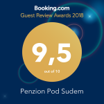 ocenění od booking